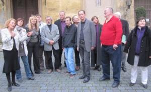SPD Kreisvorstand besichtigt Großes Schloss Blankenburg